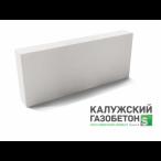 Калужский газобетон перегородочный блок D500 625х200х100