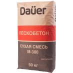 DAUER Сухая смесь М-300 Пескобетон