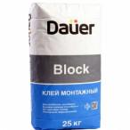 DAUER клей монтажный Block / Блок
