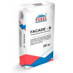 PEREL Белая цементная шпатлевка FACADE-B