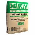 Сухая строительная смесь М-200 монтажно-кладочная
