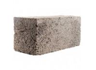 Блок керамзитобетонный полнотелый 390х280х190