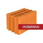 Крупноформатный керамический поризованный блок Porotherm 25M