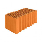 Крупноформатный керамический поризованный блок Porotherm 51 GL